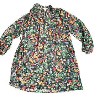 H&M • Long Sleeve Floral Dress • 10